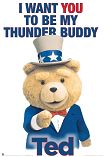 Ted / Thunder Buddy Poster 1071